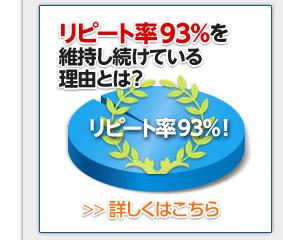 リピート率97%を維持し続けている理由とは?詳しくはこちら